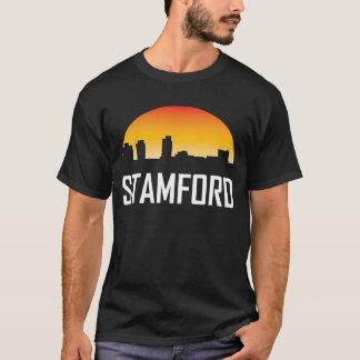 Camiseta Horizonte de la puesta del sol de Stamford