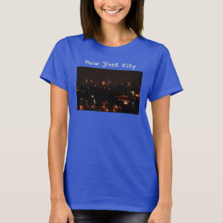 Camiseta Horizonte de New York City