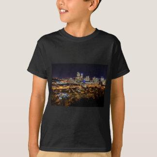 Camiseta Horizonte de Pittsburgh en la noche