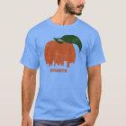 Camiseta Horizonte-Hombres retros de Atlanta