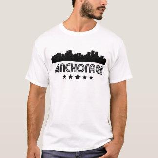 Camiseta Horizonte retro de Anchorage