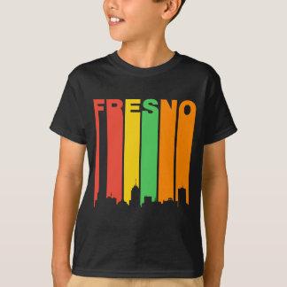 Camiseta Horizonte retro de Fresno CA del estilo