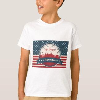 Camiseta Horizonte retro de Las Vegas