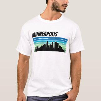 Camiseta Horizonte retro de Minneapolis