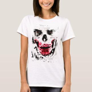 Camiseta Horror espeluznante del hombre del zombi de la