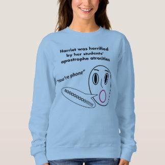 Camiseta horrorizada de Harriet