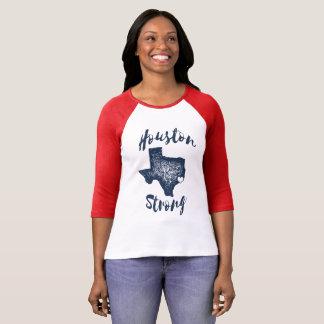 Camiseta Houston fuerte - alivio de la inundación de Harvey