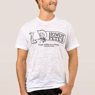 Camiseta Howdy el restaurante de Pete