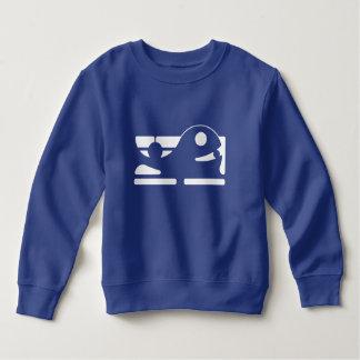 Camiseta HQH del azul real del niño lindo de la