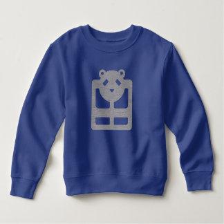 Camiseta HQH del azul real del niño lindo del oso