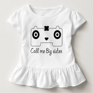 Camiseta HQH del volante del niño de la niña