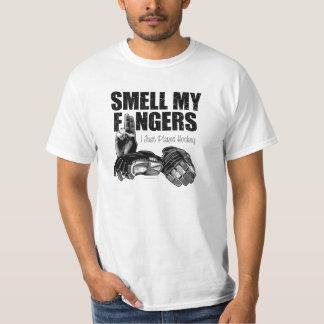 Camiseta Huela mis dedos (el hockey)