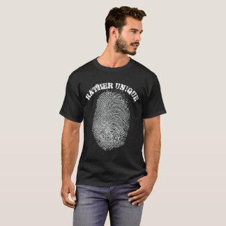 Camiseta Huella dactilar bastante única