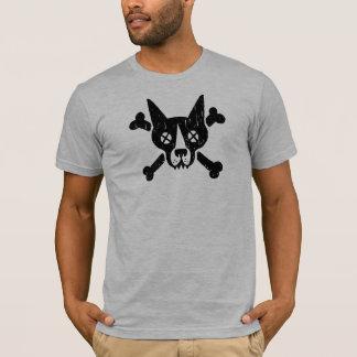 Camiseta Huesos de la cruz del n del perro