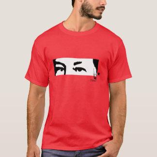 Camiseta Hugo Chávez: Ojos y firma