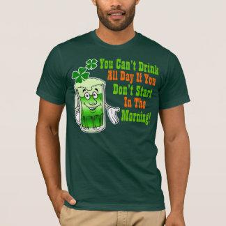 Camiseta Humor de consumición del día divertido del St