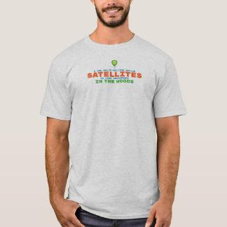 Camiseta Humor por satélite Geocaching