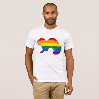 Camiseta Hurón del arco iris