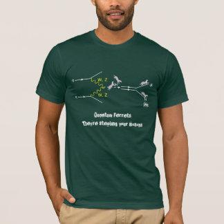 Camiseta Hurónes de Quantum: Están robando sus bosones