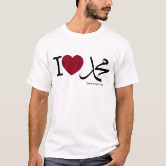 Camiseta I <3 Mohamed (PBUH)