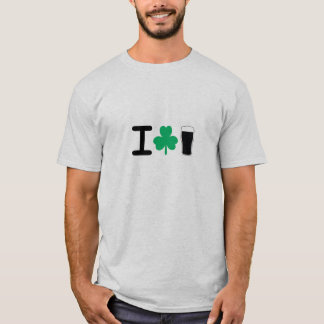 Camiseta I cerveza del trébol