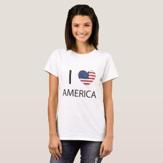 Camiseta I corazón América