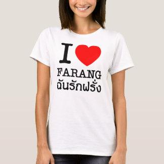 Camiseta I corazón (amor) Farang