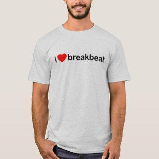 Camiseta I corazón Breakbeat