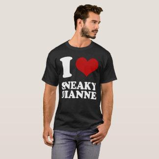 Camiseta I corazón Dianne disimulado