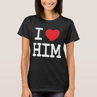 Camiseta I corazón él