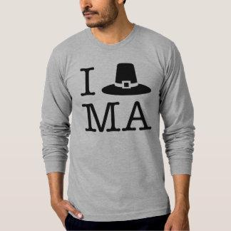Camiseta I corazón Massachusetts