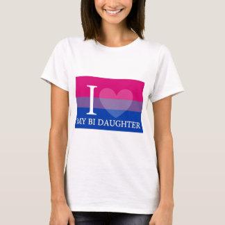 Camiseta I corazón mi hija del BI