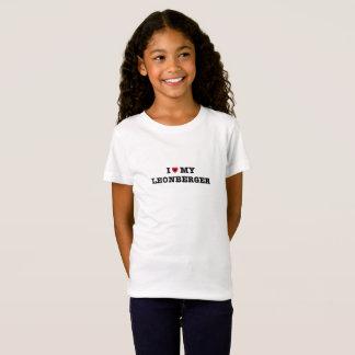 Camiseta I corazón mi Leonberger