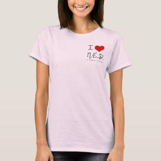"Camiseta I ""corazón"" N.E.D. - general Cancer"