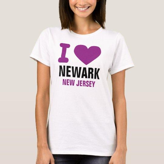 Camiseta I corazón Newark