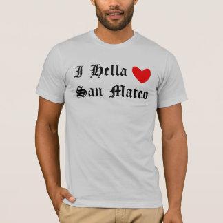 Camiseta I corazón San Mateo de Hella