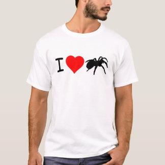 Camiseta I corte holgado de los Tarantulas del corazón