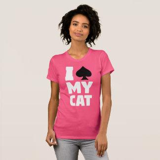 Camiseta I espada mi gato (Spayed mi gato)