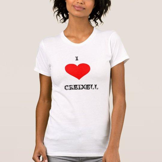 CAMISETA I LOVE CREIXELL