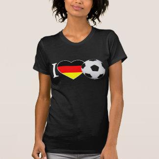 Camiseta I Love fútbol Alemania