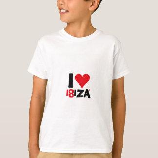Camiseta I love Ibiza 18IZA Edición Especial 2018