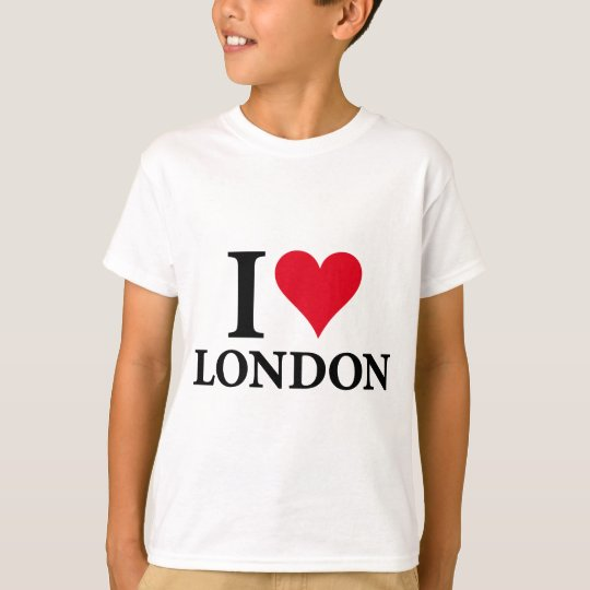 CAMISETA I LOVE LONDON