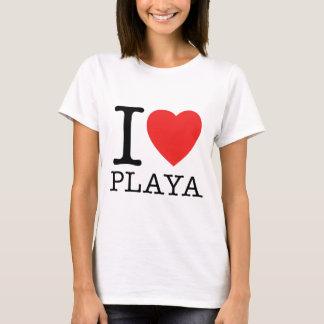 Camiseta I Love Playa