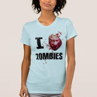 Camiseta I love zombies