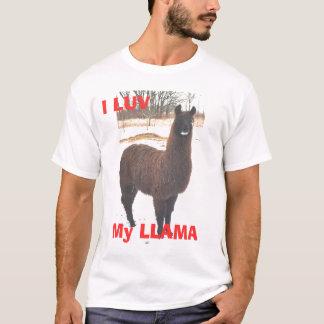 Camiseta I LUV mi LLAMA