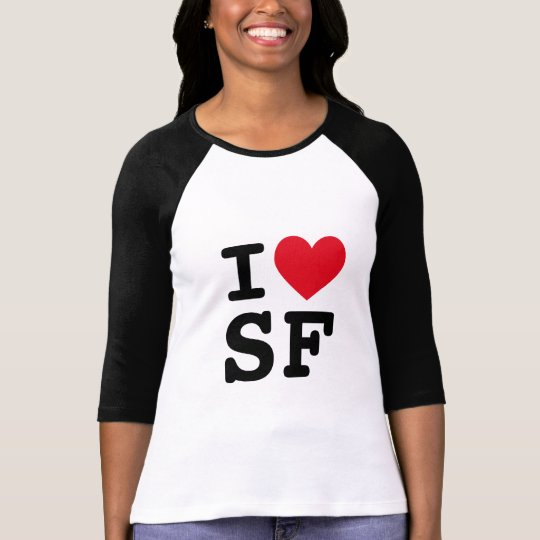 Camiseta I monograma del corazón SF
