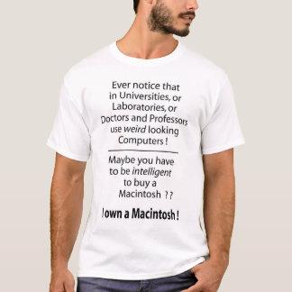 Camiseta ¿I poseer Macintosh - inteligente? ¿?