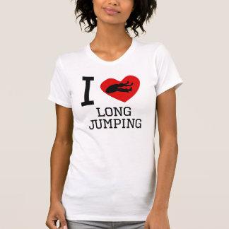 Camiseta I salto largo del corazón