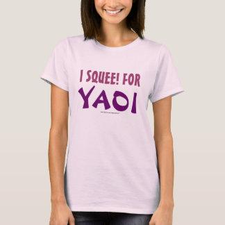Camiseta ¡I Squee! para Yaoi