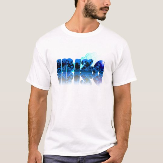 Camiseta IBIZA 2011 azul